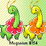 Meganium HG-SS Artwork Sprite by Eevee4Ever