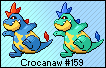 Crocanaw HG-SS Artwork Sprite by Eevee4Ever