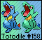 Totodile HG-SS Artwork Sprite by Eevee4Ever