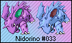 Nidorino TCG-based Sprite by Eevee4Ever