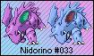 Nidorino TCG-based Sprite by Eevee4Ever