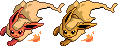 Flareon Sprite by Eevee4Ever