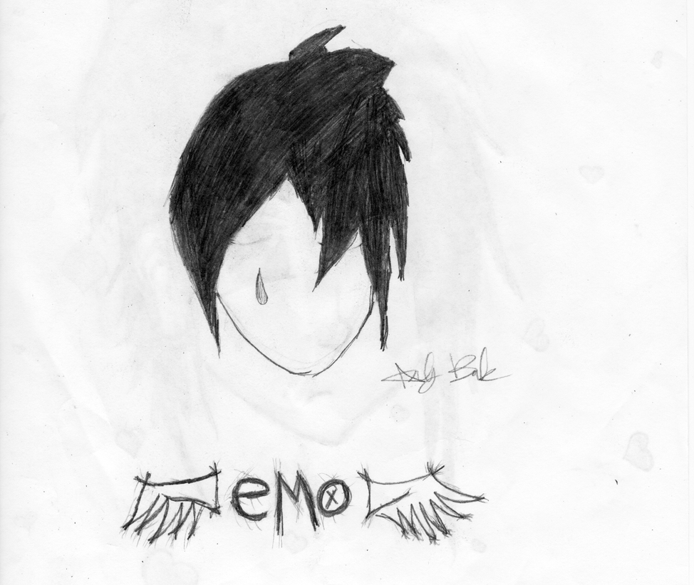Sad Boy Alone Quotes: Sad Emo By EmoHailyBug On DeviantArt