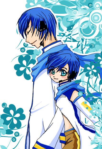 Vocaloid_01 -Kaito and Kaiko- by Clocktowernaga on DeviantArt