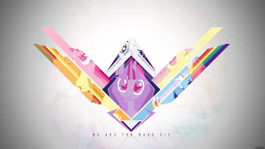 We are the Mane Six by Zeezal