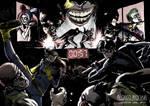 Bat family vs Joker