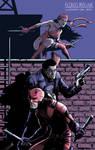 Daredevil, Punisher and Elektra