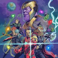 Avengers Endgame fanart by alonsomolina1985