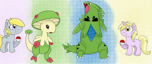 MLP Pokemon Battle (Request) by 123456543