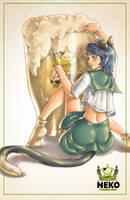 Neko beer by tsugami