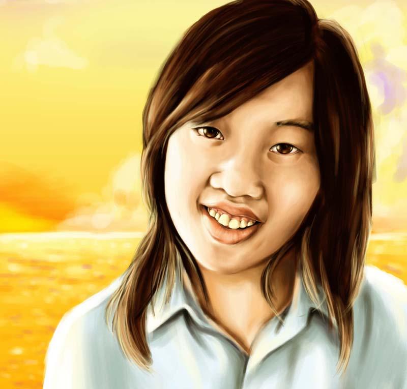 Portrait by tsugami