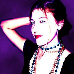 Purple Evening by distopia