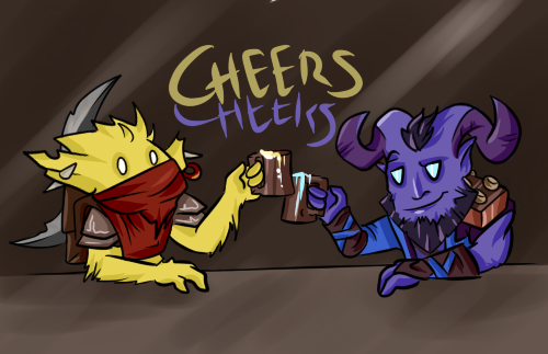 CHEERS! by EndOfDream