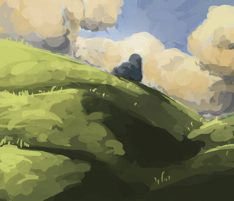 Stone on the Hill
