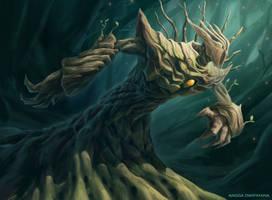 Treefolk by AnggadpArt