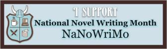 I support NaNoWriMo