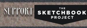 I Support The Sketchbook Project - Banner