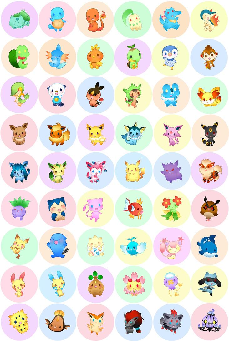pokemon buttons 2013 by fishenod on deviantart