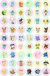 Pokemon Buttons 2013