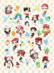 Pokemon Trainers Blanket