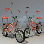 Natalie-Boyle Orange-Krate-Schwinn-Bicycle