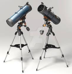 Julian-Phillips Celestron-Astromaster-Telescope