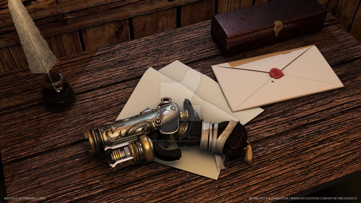 Melissa (Schimank) Lara   Steampunk Pistol by mediaartsdallas
