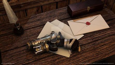 Melissa (Schimank) Lara | Steampunk Pistol