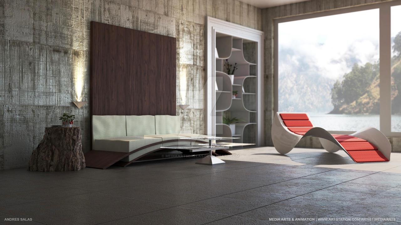 Andres Salas   Modern Interior by mediaartsdallas