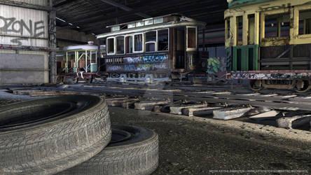 Fumi Oshodi | Abandoned Trolley Shed