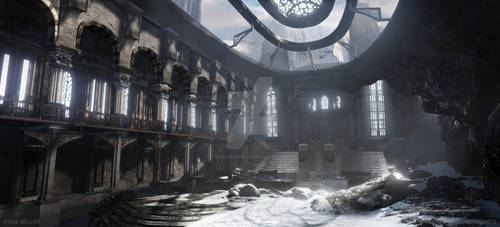 Rose Miller | Mountain Cathedral | 3D Visualizatio