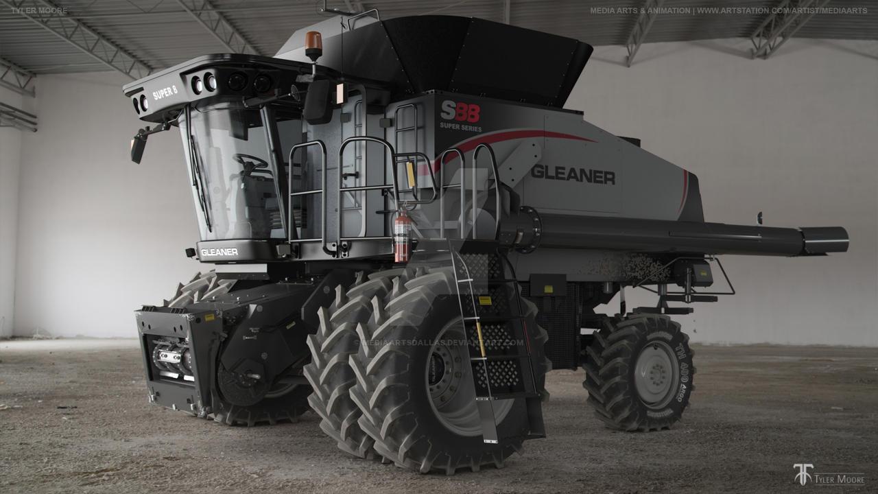 Tyler Moore | Gleanor S88 Combine by mediaartsdallas