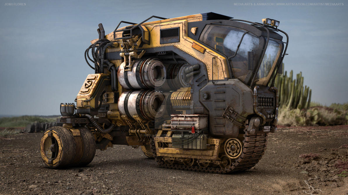 Josh Flores | Obsidian Vehicle Hauler by mediaartsdallas