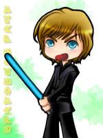 Luke Skywalker Is Chibi by Falsetto-Waltz