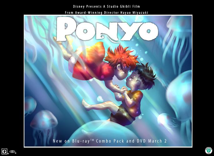Ponyo - Make A Splash by Falsetto-Waltz