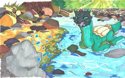 Bubble Bomb River