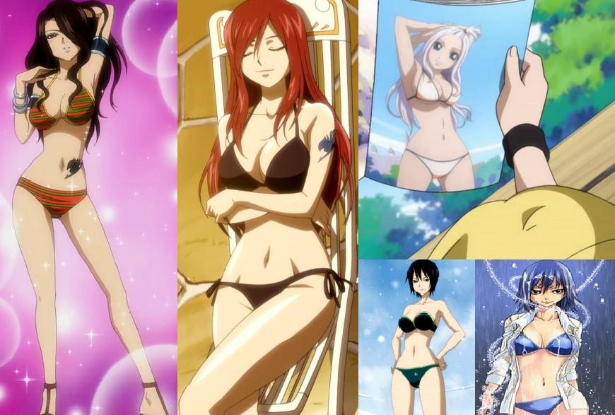 Fairy Tail Sexy Girls