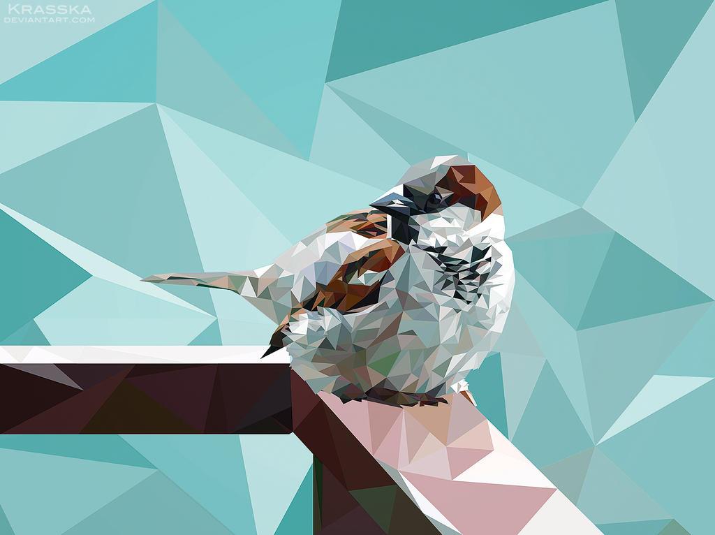 Poly Sparrow by Krasska