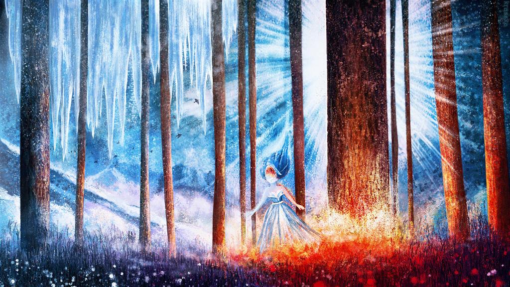 Elemental Princess by Krasska