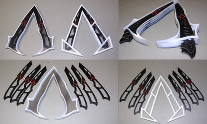 Assassin Knife Belt Symbol