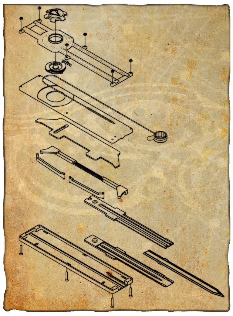 ammnra codex page by ammnra on deviantart rh deviantart com assassin's creed hidden blade diagram OTF Hidden Blade Blueprints
