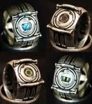 Portal Corrupt Core Rings (Silver)