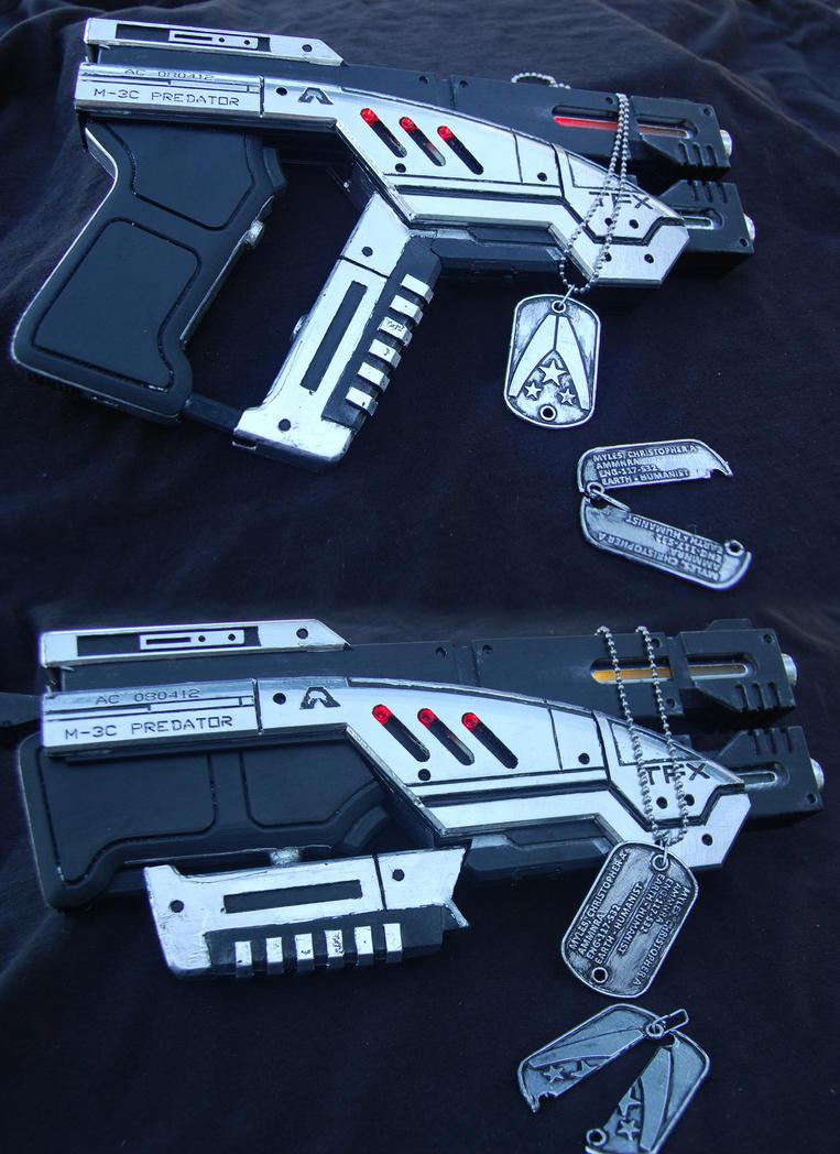 M-3C Predator Heavy Pistol Prop Gun by ammnra on DeviantArt