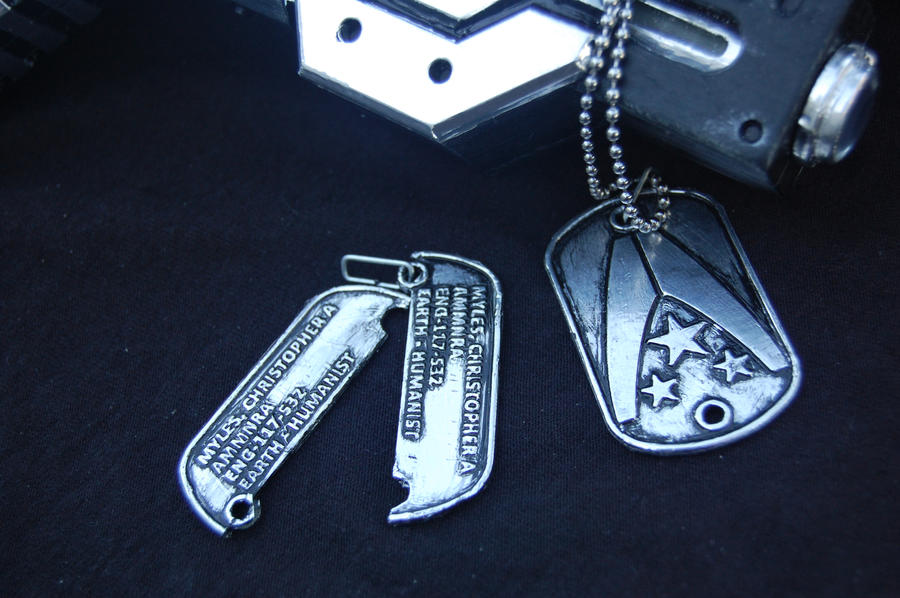 Mass Effect  Find Dog Tags