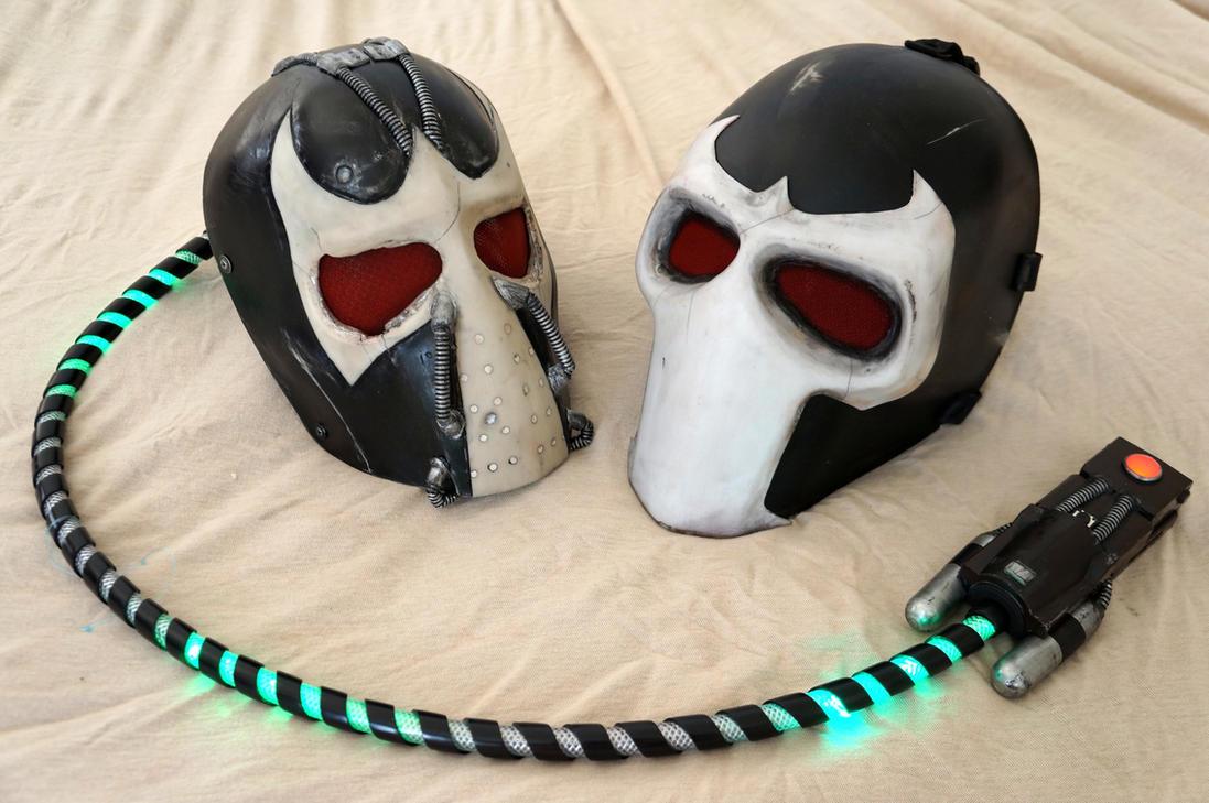 Bane Battle Masks by ammnra ... & Bane Battle Masks by ammnra on DeviantArt