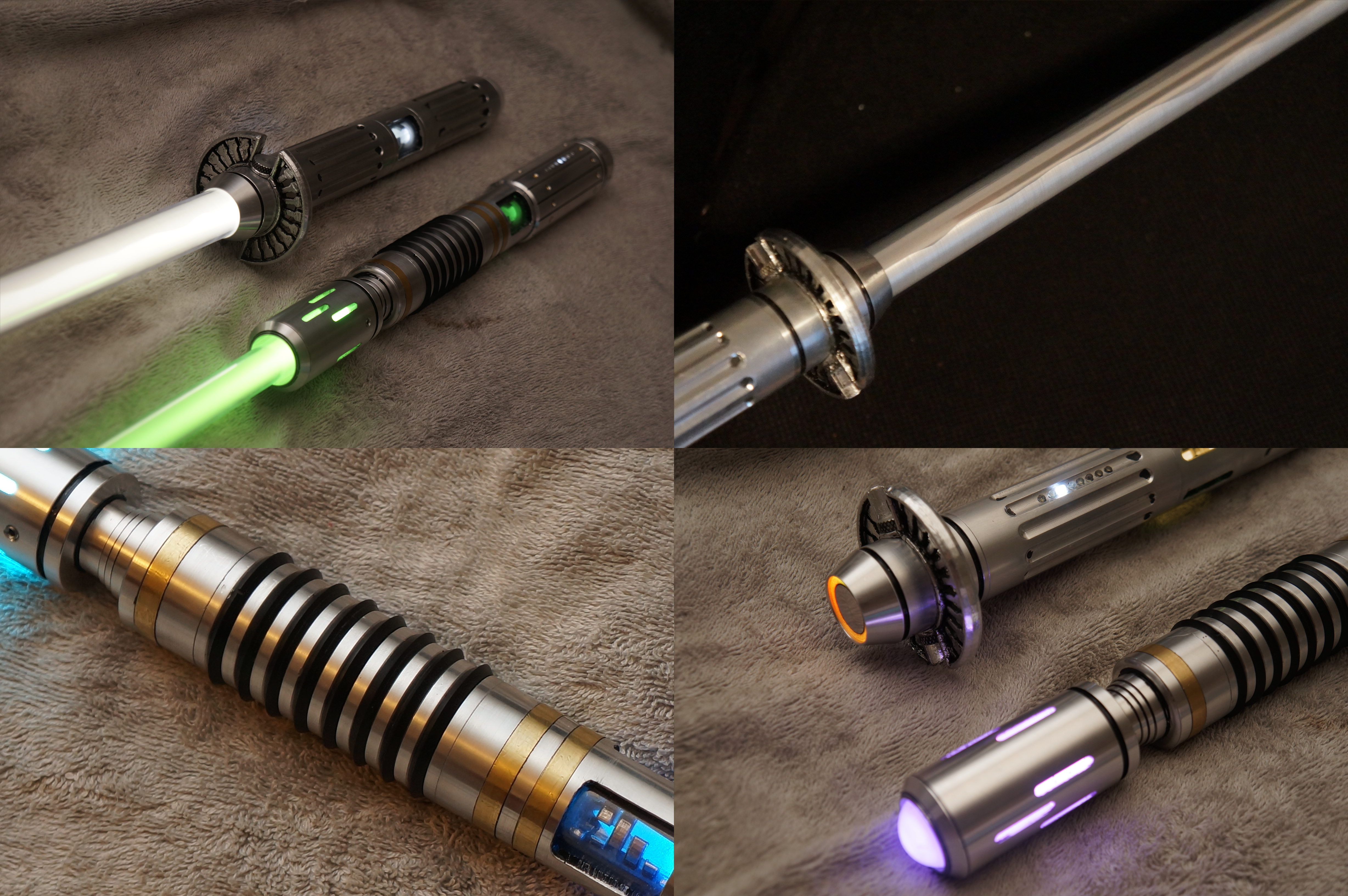 Superb ... Custom Lightsabers (Detail) By Ammnra Awesome Ideas