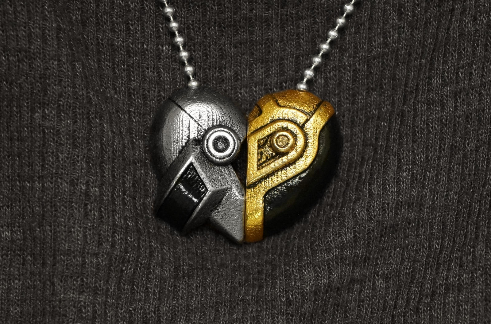 Daft Love Necklace by ammnra