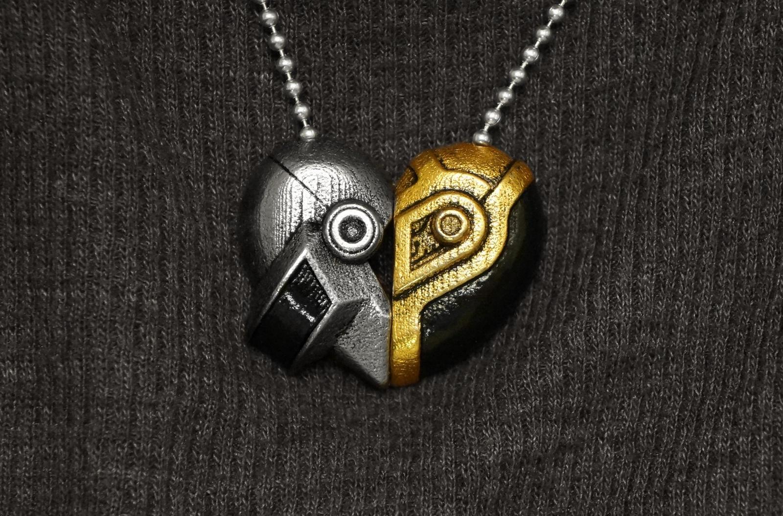 Daft Love Necklace by ammnra