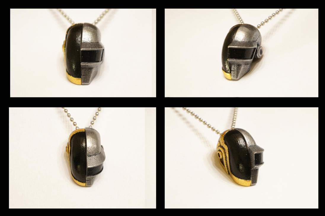 Daft Love Necklace (Folded) by ammnra