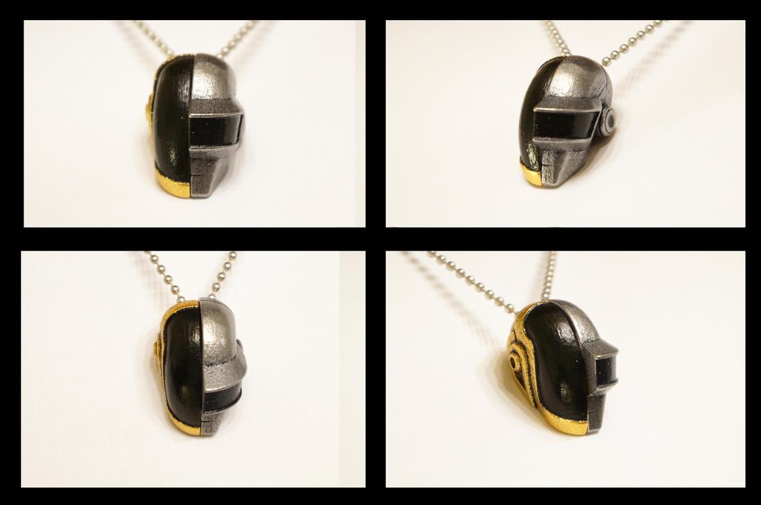 Daft Love Necklace (Folded) by ammnra